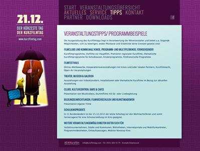 Kurzfilmtag 2012