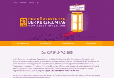 Kurzfilmtag 2015